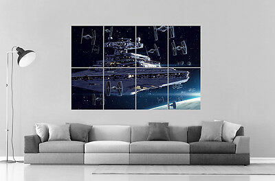 Star Wars Destroyer Art Poster Grand format A0 Large Print