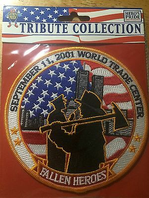 "Heroes Pride Tribute Collection # 8489 United We Stand 5"" Patch {NEW}"