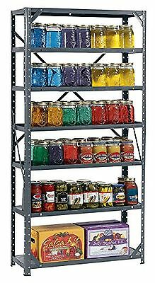 7 Tier Shelf Storage Heavy Duty Metal Steel Shelving Home Unit Organizer Garage