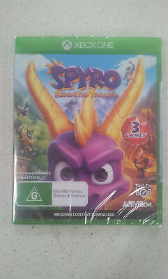 Spyro Reignited Trilogy Xbox One Game (Brand New & Sealed)