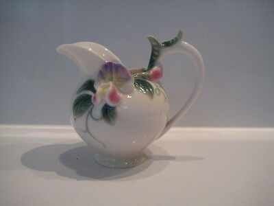 Superb Franz Porcelain Sweet Pea  Jug Pitcher Fz 00412