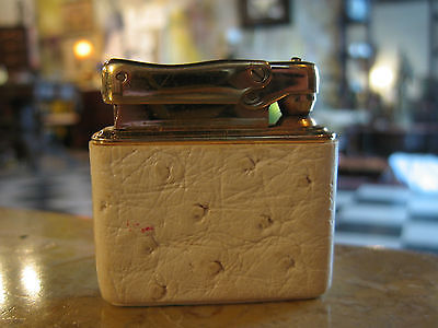 Vintage Colibri Leather Wrapped Lighter