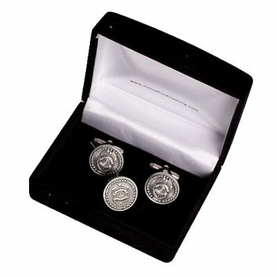 Police Officer Cuff Links and Tie Tack in Gift Box