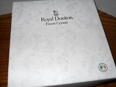 Royal Doulton Major League Baseball 125th Anniversary Bowl NIB