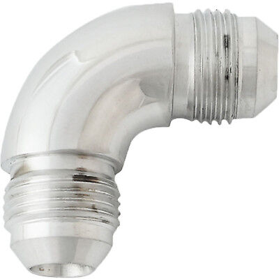 Proflow 521-04HP 90 Degree Male Flare Forged Union Fitting -04AN Polished