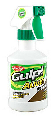 Berkley Gulp Alive CRAWFISH Spray- - Brand New