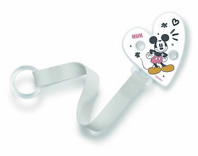 Nuk Disney Soother Silicone 2pk Size1/Size2 Available in Red/Black,White/Black