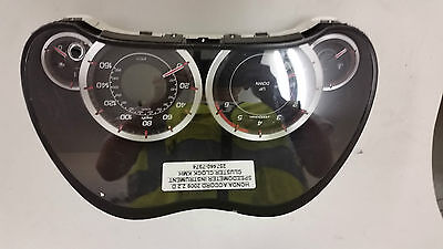 Honda Accord 2009 2.2 D Speedometer Instrument Cluster Clock Kmh 257440-7974