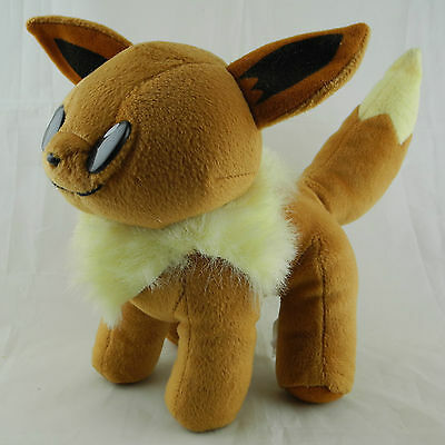 Vintage 1999 Play By Play Pokemon Plüsch Plush - EVOLI / EEVEE 19,5cm wie Neu
