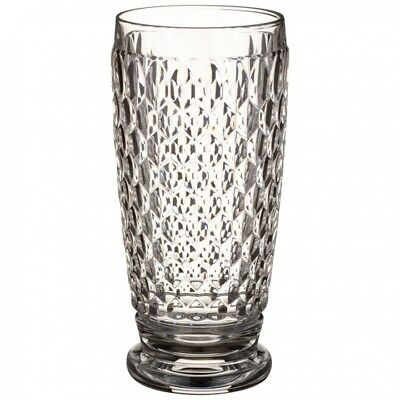 Villeroy & Boch Boston CLEAR Crystal HIGHBALL service for 12
