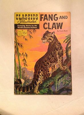 Fang and Claw #123 1954