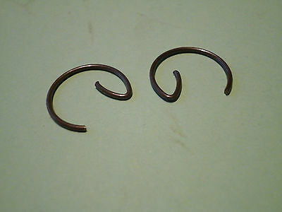 Bsa Bantam D7 D10 D14 Piston Gudgeon Pin Circlips 90-1386 'new' Uk Made