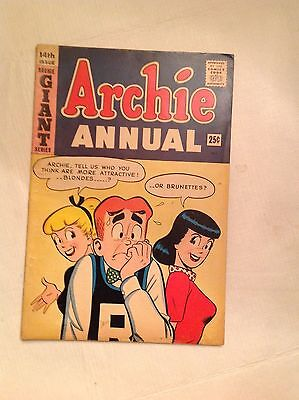 Archie's Giant Annual 1962-1963