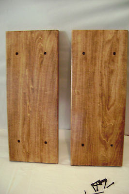 Black Custom Made   Deck Side Panels & Matching Feet-All Models