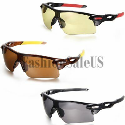 Night Vision Glasses Outdoor Sports Parkour Riding Eyewear Driving Sunglasses