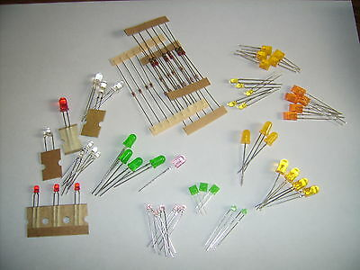 LED Creative Set for Hobbyists 50 different Light-emitting diodes/20