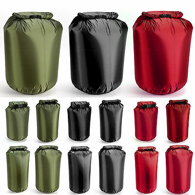 4L-80L Waterproof Drift Floating Canoe Camp Swimming Lightweight Dry Bag Sack