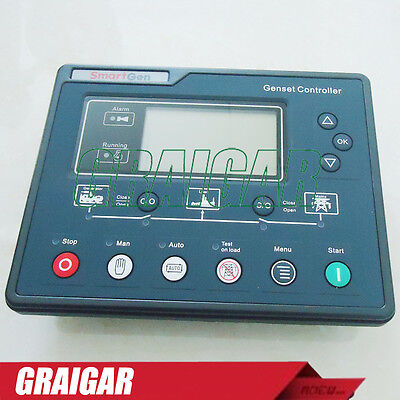 New Smartgen generator controller HGM6120UC with RS485 interface