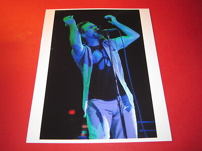 PEARL JAM EDDIE VEDDER  10x8 inch lab-printed glossy photo P/4759