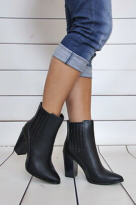 HOHE STIEFEL PUMPS High Heels Damenschuhe Ankle WoW Stiefel WoW Ankle 36 40 c2965b