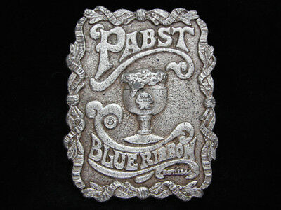 Of15140 Vintage 1974 **pabst Blue Ribbon** Beer Brewing Company Buckle