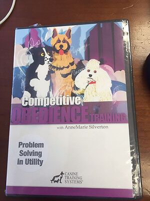 Competitive Obedience Training with AnneMarie Silverton - Prob Solve Utility DVD