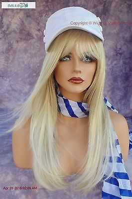 """""""stevie"""" Amore Double Monotop Wig *creamy Blonde Turn Heads W/ This Beauty 549"""