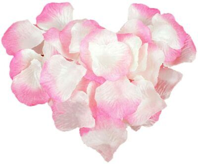 Pink 1000 Pcs Silk Rose Petal Flower Decoration Event Celebration Festival Diy