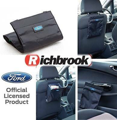 Richbrook Official Licensed Ford Logo Car Van Travel Portable Rubbish Bin