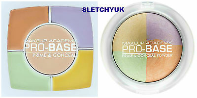 MUA Pro Base Prime & Conceal Correcting Powder And Creamy Palettes Kits NEW