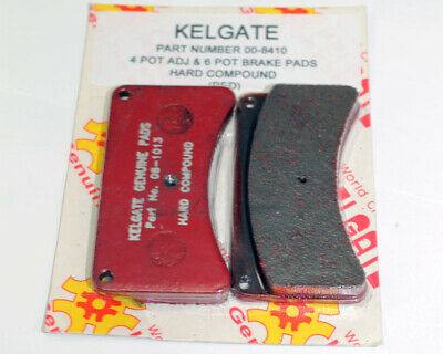 Kelgate 4 Pot Pad Set Red Hard Go Kart Karting Race Racing