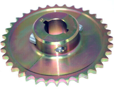 36T 428 Pitch Split Sprocket 30mm Axle Go Kart Karting Race Racing