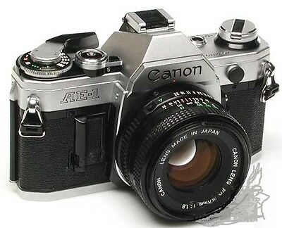 Canon AE-1 AE1 35mm Camera with 50mm f/1.8 Lens Excellent Conditions