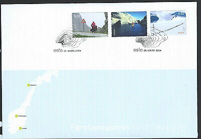 Norway 2004 Europa - Holidays set on unaddressed official first day cover