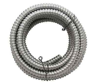 "50' Southwire Metal Flex Flexible 1/2"" Conduit 13 mm 0.5"" Electrical Wire Tubing"