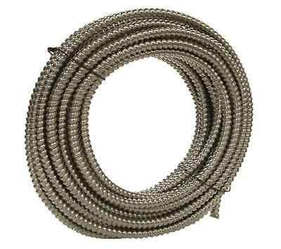 "100' Southwire Metal Flex Flexible 1/2"" Conduit 13mm 0.5"" Electrical Wire Tubing"