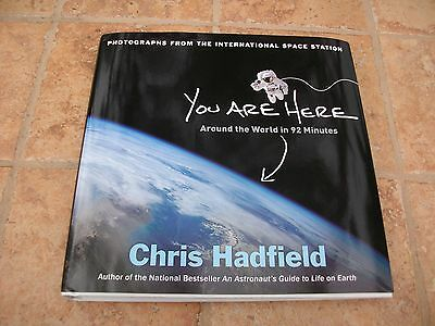 Col Chris Hadfield Signed You Are Here Book Jsa Coa