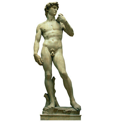 Italy Statue of David Life Size Cardboard Cutout Standup