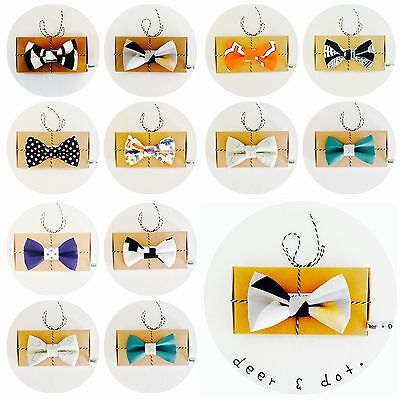 DAPPER BOYS TODDLER BOWTIE KIDS BOW TIE BABY BOWTIE SUIT WEDDING  0-11yrs EVENT