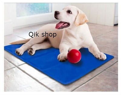 Large Pet Cooling Cooler Mat Dog Cat Summer Cool Gel 90 X 70 cm RRP £ 39.99