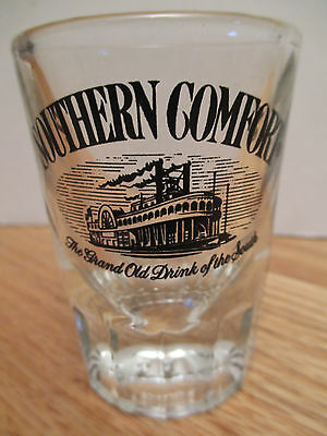 """SOUTHERN COMFORT """"The Grand Old Drink of the South"""" 3"""" Shot Glass"""