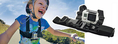 ProGear Kids Chest Mount Chesty For GoPro HERO 1/2/3/4/5/6/7 Camera Ages 2-14