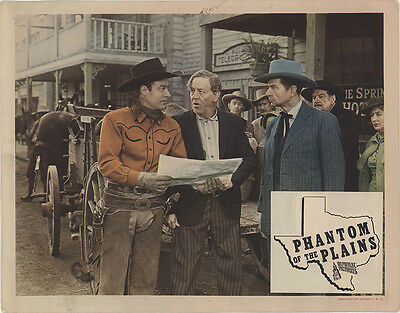 Phantom of the Plains 1945 Original Movie Poster Western