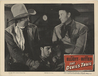 The Devil's Trail 1955 Original Movie Poster Western