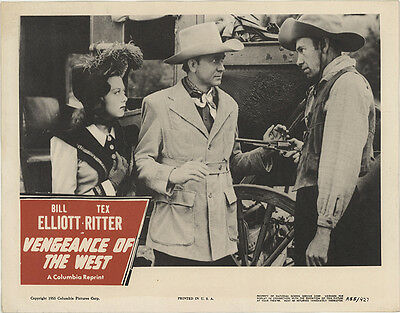Vengeance of the West 1955 Original Movie Poster Romance Western