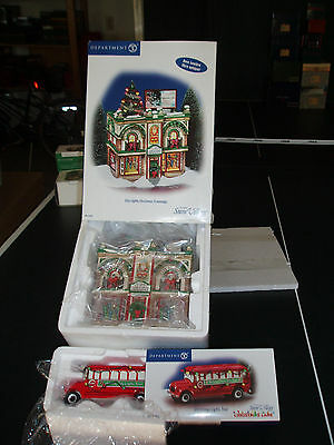DEPT 56 SNOW VILLAGE CITY LIGHTS CHRISTMAS TRIMMINGS NIB *Read*