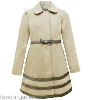 Luxurious Soft Finish Winter Woven Dark Skin Colour Girls Coat