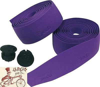 Deda Elementi Logo Bishop Violet Bicycle Handlebar Bartape Bar Tape