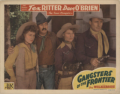 Gangsters of the Frontier 1944 Original Movie Poster Western
