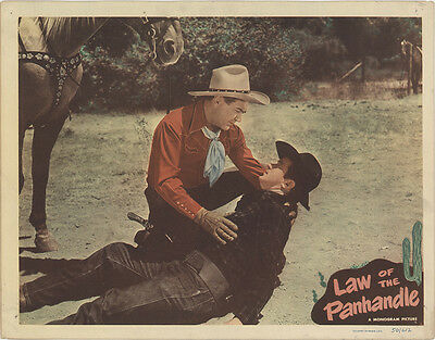 Law of the Panhandle 1950 Original Movie Poster Western